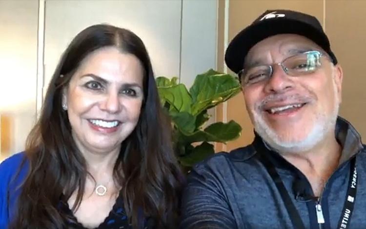Con Rosy Ocampo desde Natpe 2018