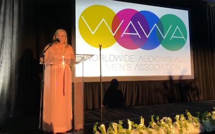 Desde la gala anual de WAWA, Worldwide Audiov...