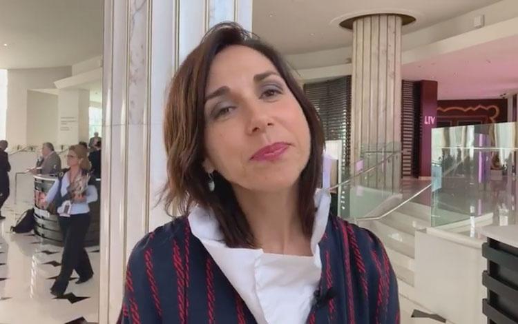 Con Fidela Navarro CEO de Dopamine desde Natp...