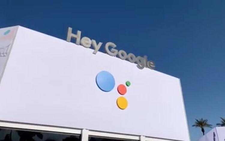 Desde el megastand de Google en el CES, Las V...