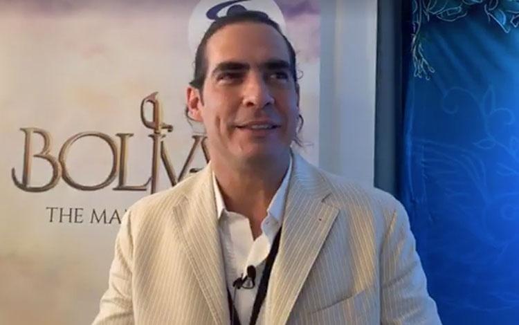 Con Luis Gerónimo Abreu, actor venezolano que...