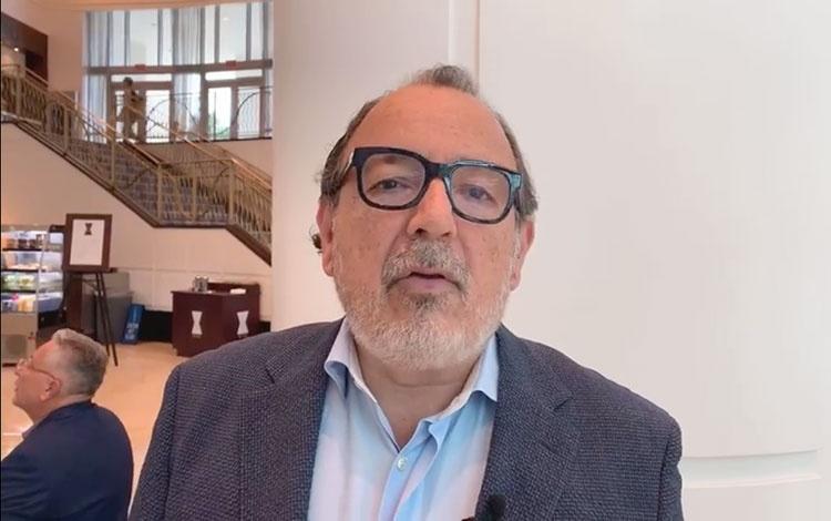 Con Luis Torres-Bohl CEO de Castalia Communic...