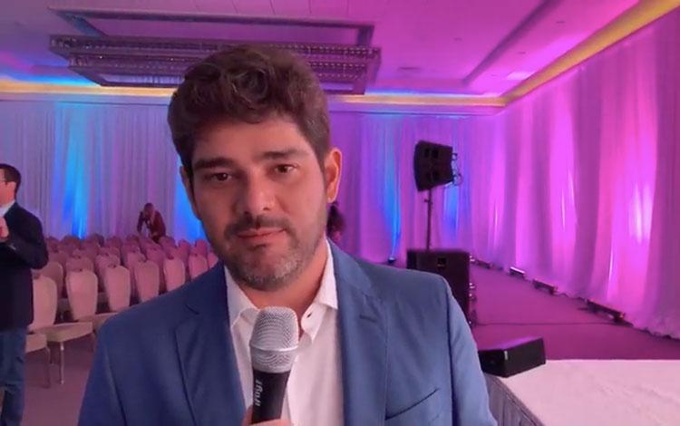 Con Raphâel Correa de Globo desde Natpe