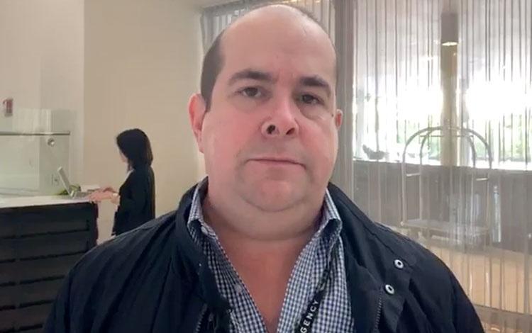 Con Sergio Pizzolante socio fundador CTMOBS a...