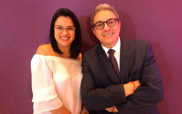 ConJosé Escalante de Latin Media y Rosa...