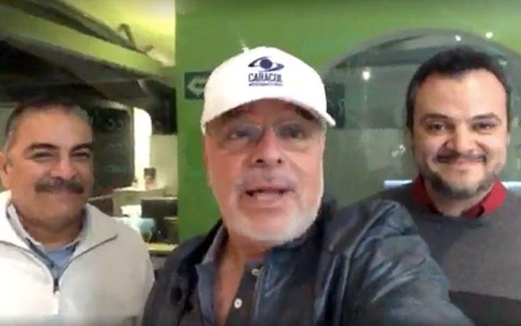 Con el presidente de Macías Group Jesús Pache...