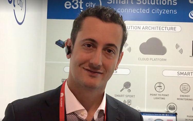Con Javier Escalera de E3TCITY empresa españo...