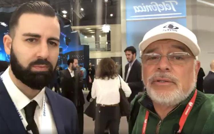 Desde el pabellón de Samsung con Javier Escud...