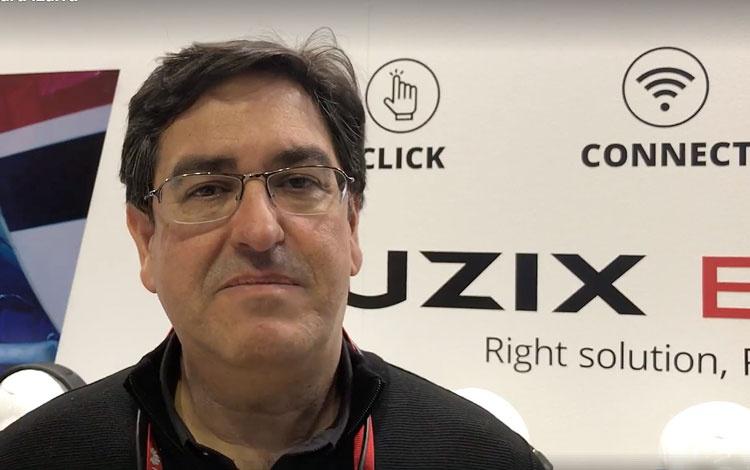 Con Jordi Boza director comercial de Vuzix mo...
