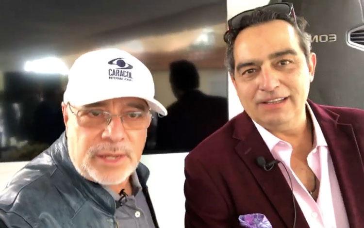 Con Omar Fierro desde Televisa San Ángel