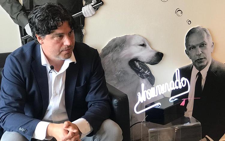 Con Juan Carlos Ortíz, CEO de DDB Latina (USA...