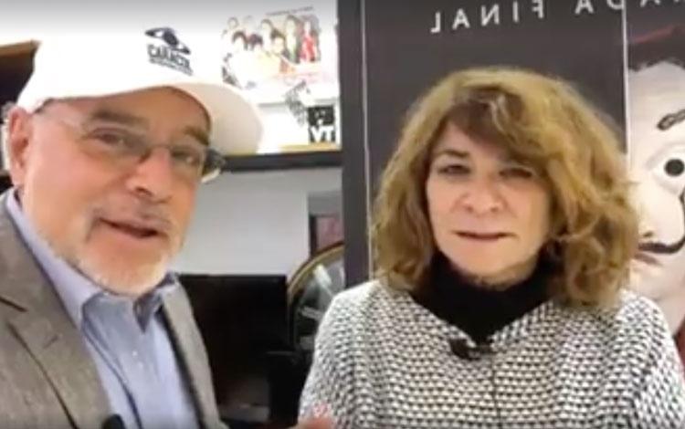 Con Sonia Martínez directora de Ficción de At...