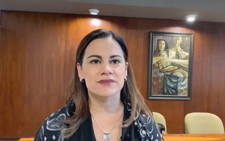 Con Dialma Santiago, directora de Noticias de...