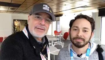 Con Steven Morales, productor colombiano, gan...