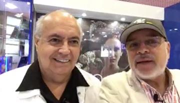 Con José Luis Moreno, productor y director de...