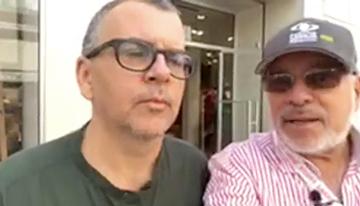Con Fernando Bonassi, creador y guionista de ...