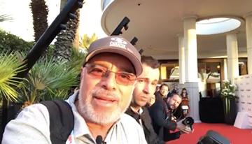 Desde Cannes en la alfombra roja del lanzamie...