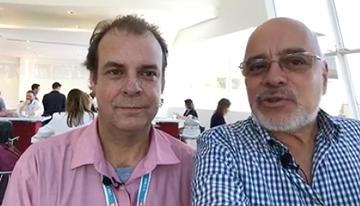 Con Christian Barzelatto, nuevo presidente de...