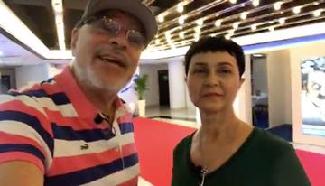 Con Paloma García, ejecutiva de Ventas Intern...