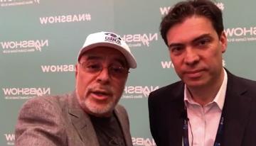 Con Arnault Lannuzel, director de Ventas para...