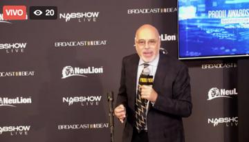 NAB Show LIVE con el anuncio de los ganadores...