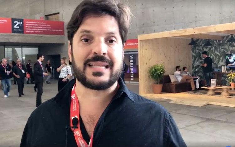 Con Rafael Lazarini creador del Río Content