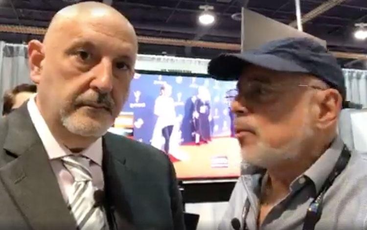 Con Daniel Benaimdesde la NAB en Las Ve...