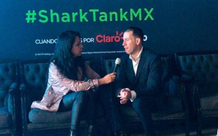 Desde la conferencia de Shark Tank Mx, con Jo...