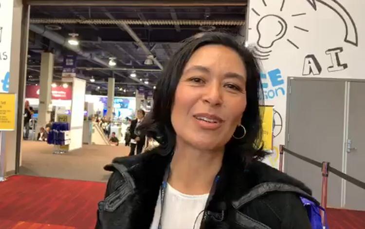 Con Françoise Nieto-Fong productora de Centau...
