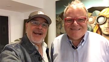 Con Horacio Gennari, fundador y presidente de...