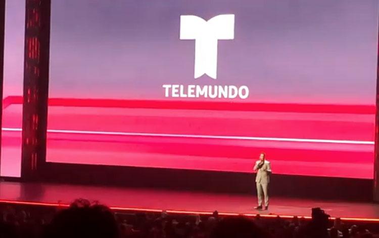 Así se presentó la nueva serie de Telemundo  ...
