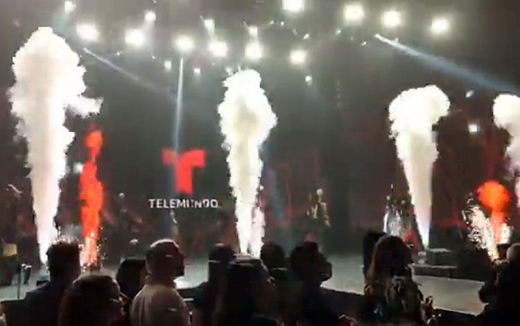 Desde la fiesta  upfront  de Telemundo en Nue...