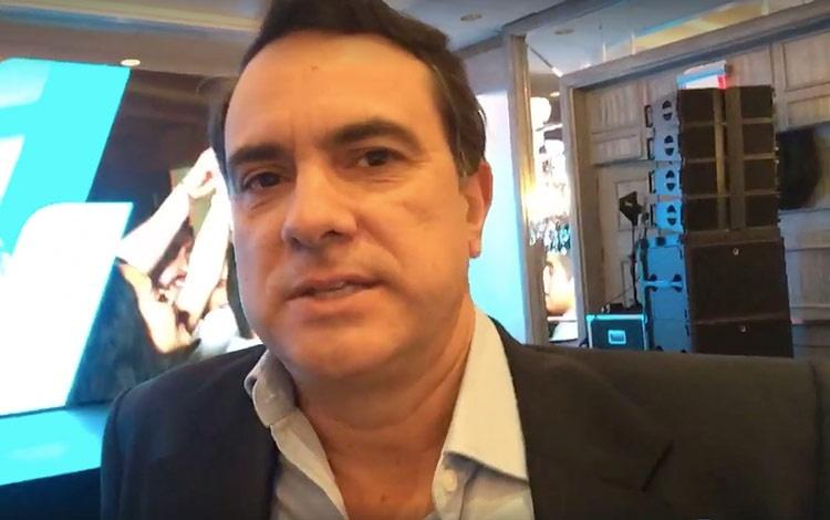 Con Federico Cuervo de Viacom