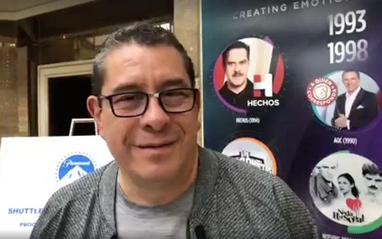 Con Ramón Salomóndesde Los  Screenings ...