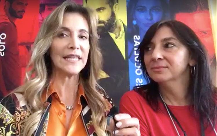 Con Esperanza Garay, CEO de MGE