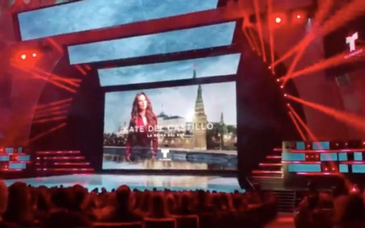 Kate del Castillo en el upfront de NBCUnivers...