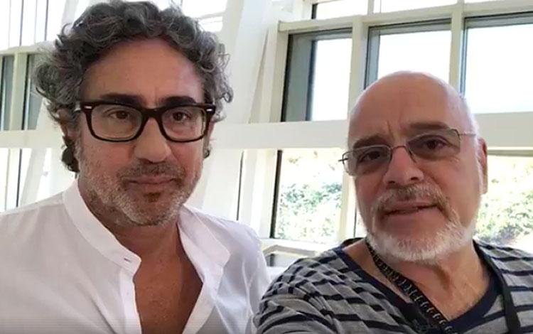 Con Pepe Huertas, fundador y CEO de Geca, una...