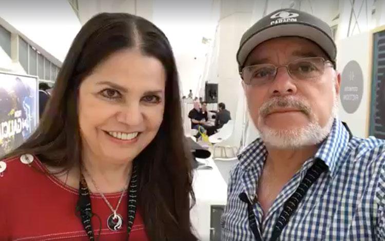 Con Rosy Ocampo, VP Corporativa de Contenidos...