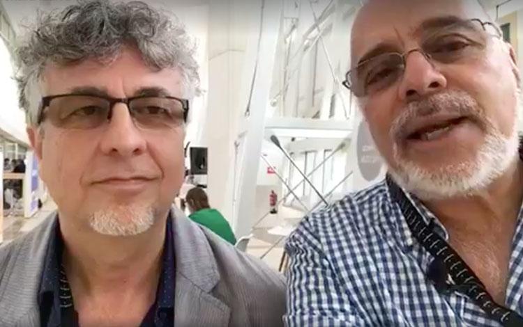Con Jorge Stamadianos, VP de Desarrollo de Co...