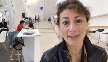 Con Geraldine Gonard, creadora de Conecta Fic...