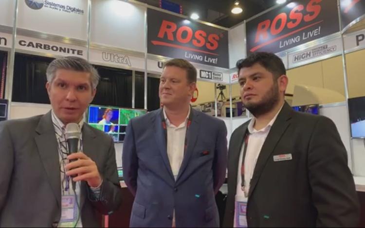 Jason Barden y Jorge Rosales de ROSS