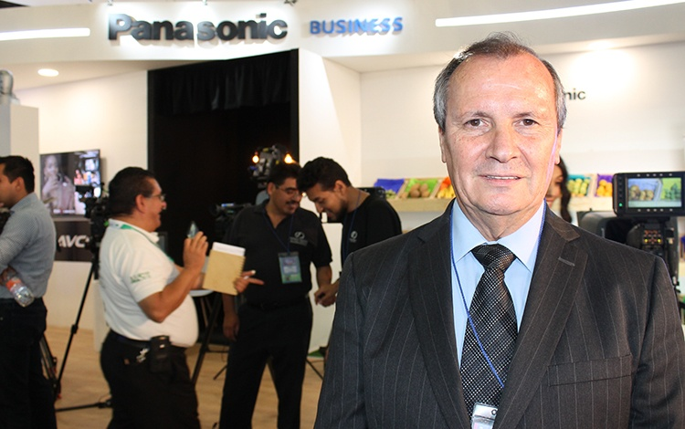 Sergio Noriega de Panasonic México