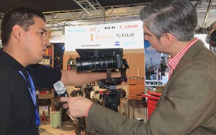 Con Edgar Gaona de Fujifilm
