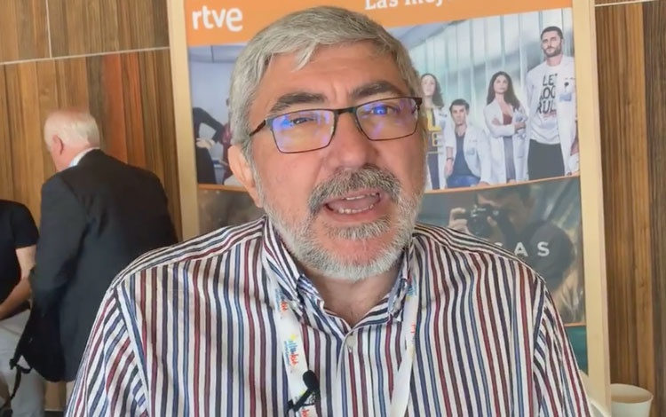 Con Fernando López Puig de TVE