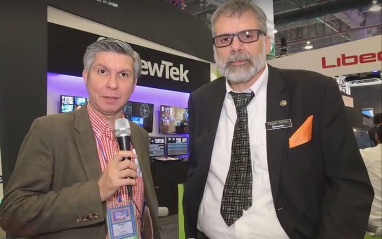 Con Filippo Ferlini de NewTek