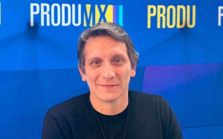 Con Gerardo Brandy organizador de Mediamorpho...