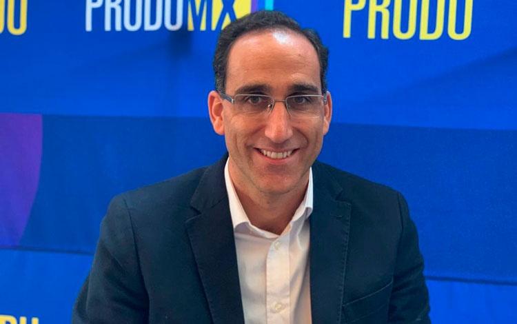 Con Gonzalo Sagardía, socio cofundador de Onz...