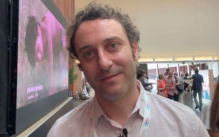 Con Juan Vicente director de Contenidos y Neg...