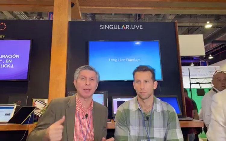 Con Steve Sánchez de Singular.Live