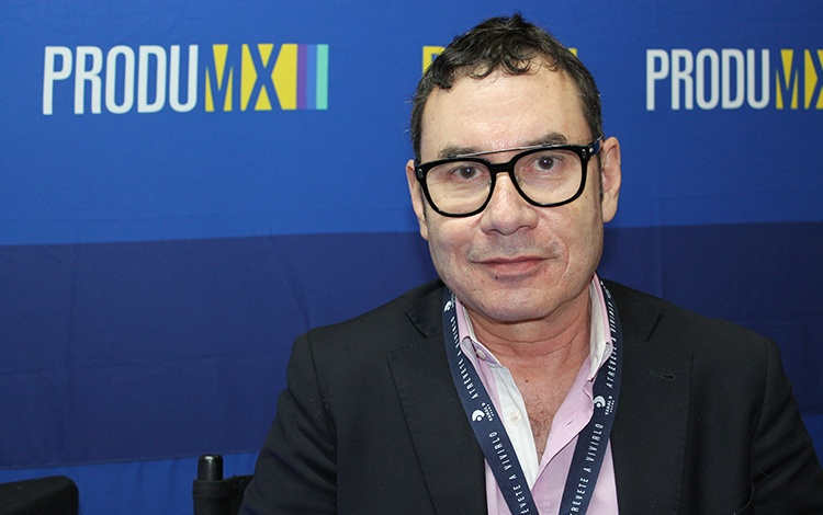 Con Pompeyo Pino de France Media Monde